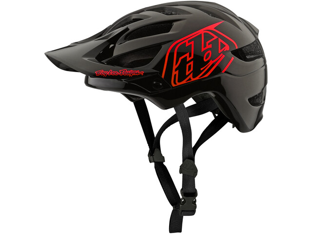 Troy Lee Designs A1 Helmet Kinder drone/black/red